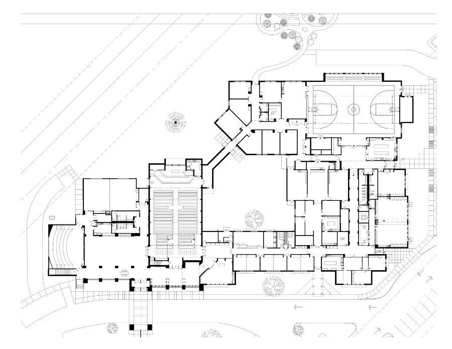Our Savior Lutheran Bett Floor Plan