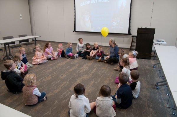 inside kids classroom